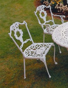 jardine aluminium chair